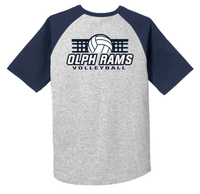 Volleyball Fan Raglan Tee
