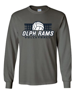 OLPH Volleyball Fan LS Tee