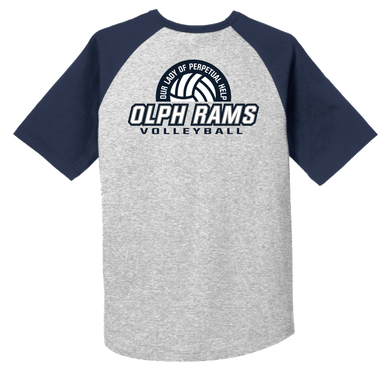 Volleyball Team Raglan Tee