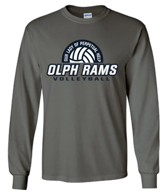 OLPH Volleyball Team LS Tee