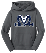 Load image into Gallery viewer, Sport-Tek® Youth Sport-Wick® Fleece Hooded Pullover