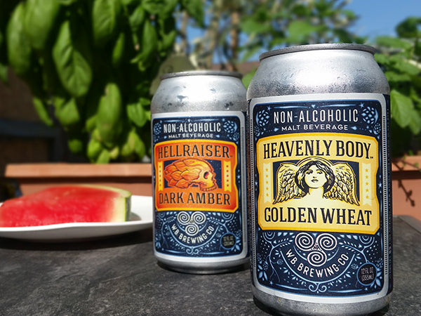 WellBeing Dark Amber and Golden Wheat