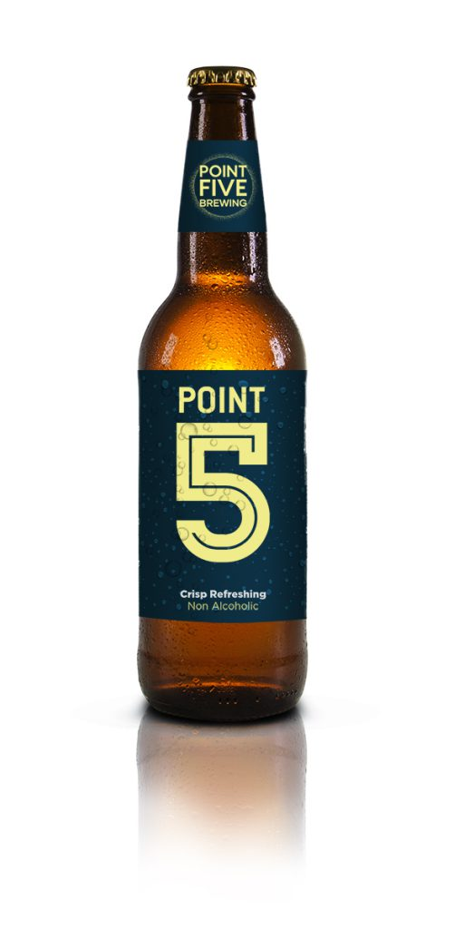 Point Five Brewing Point 5 (Non-Alcoholic) 12-Pack