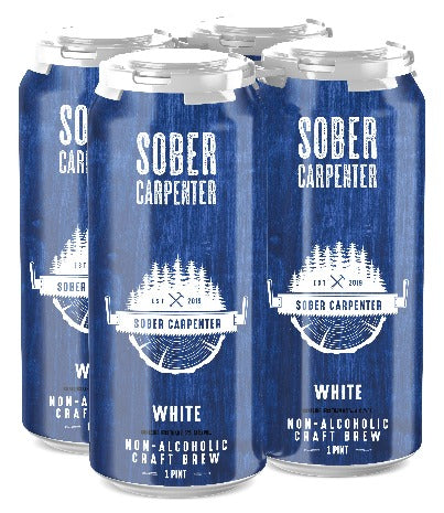 Sober Carpenter White (Non-Alcoholic) 4-Pack