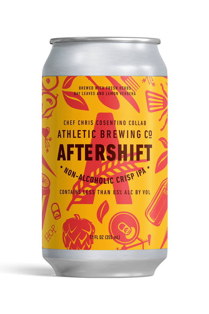 Athletic Brewing AfterShift IPA (Non-Alcoholic) 6-Pack