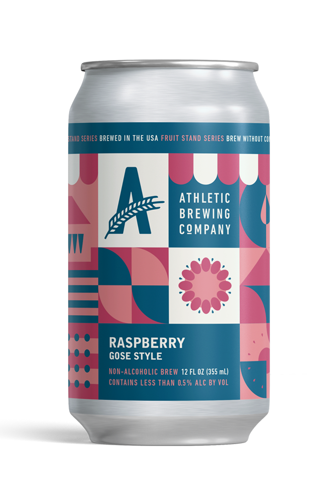 Athletic Brewing Raspberry Gose (Non-Alcoholic) 6-Pack