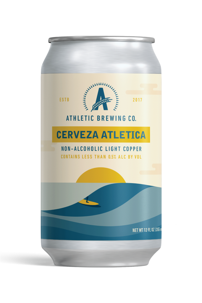 Athletic Brewing Cerveza Atletica (Non-Alcoholic) 6-Pack