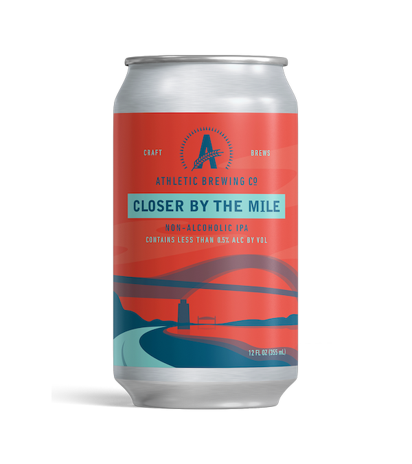 Athletic Brewing Closer By The Mile IPA (Non-Alcoholic) 6-Pack