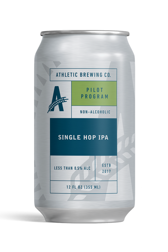 Athletic Brewing Single Hop IPA (Non-Alcoholic) 6-Pack