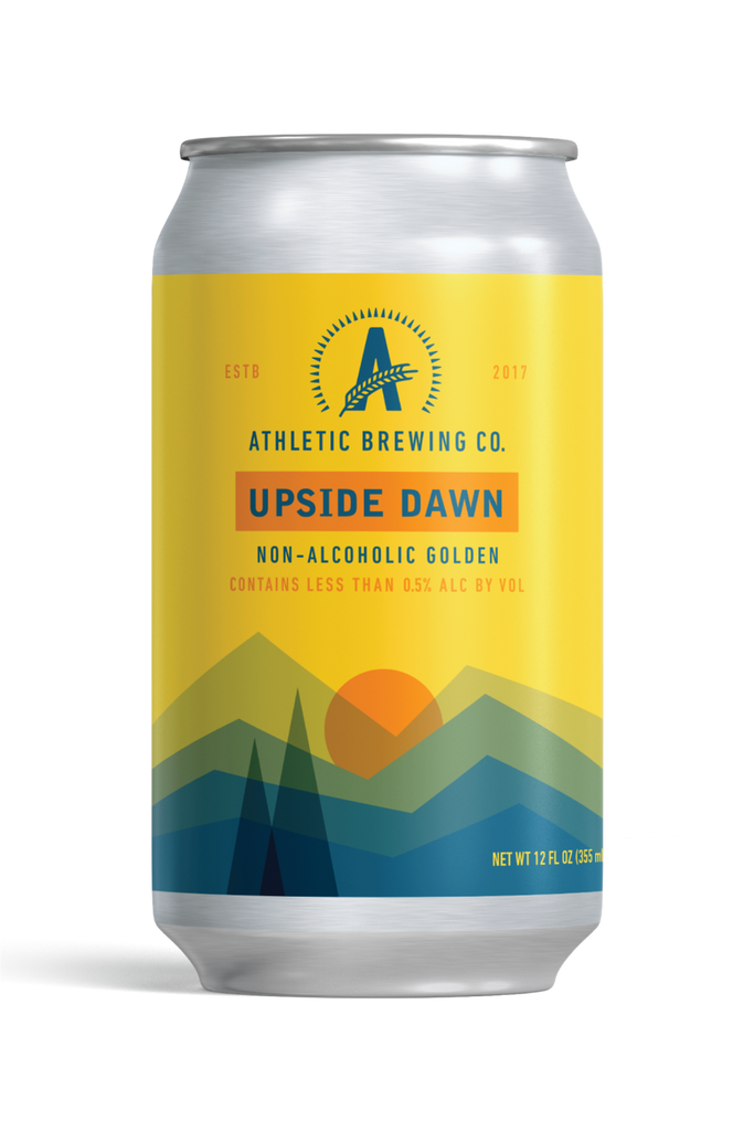 Athletic Brewing Upside Dawn Golden Ale (Non-Alcoholic) 6-Pack