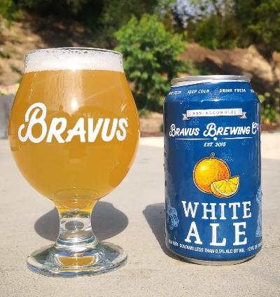 Bravus Brewing White Ale (Non-Alcoholic) 6-Pack