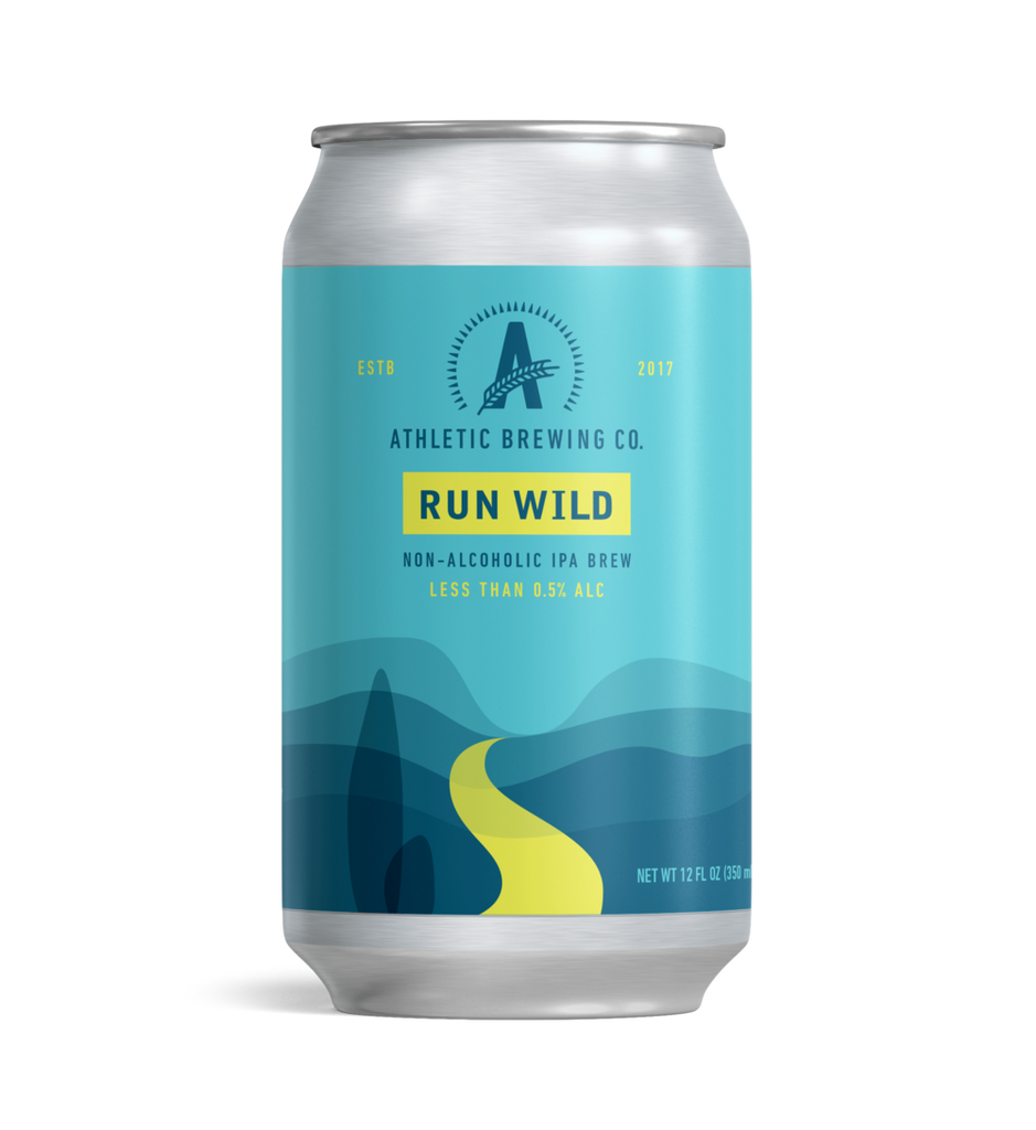 Athletic Brewing Run Wild IPA (Non-Alcoholic) 6-Pack