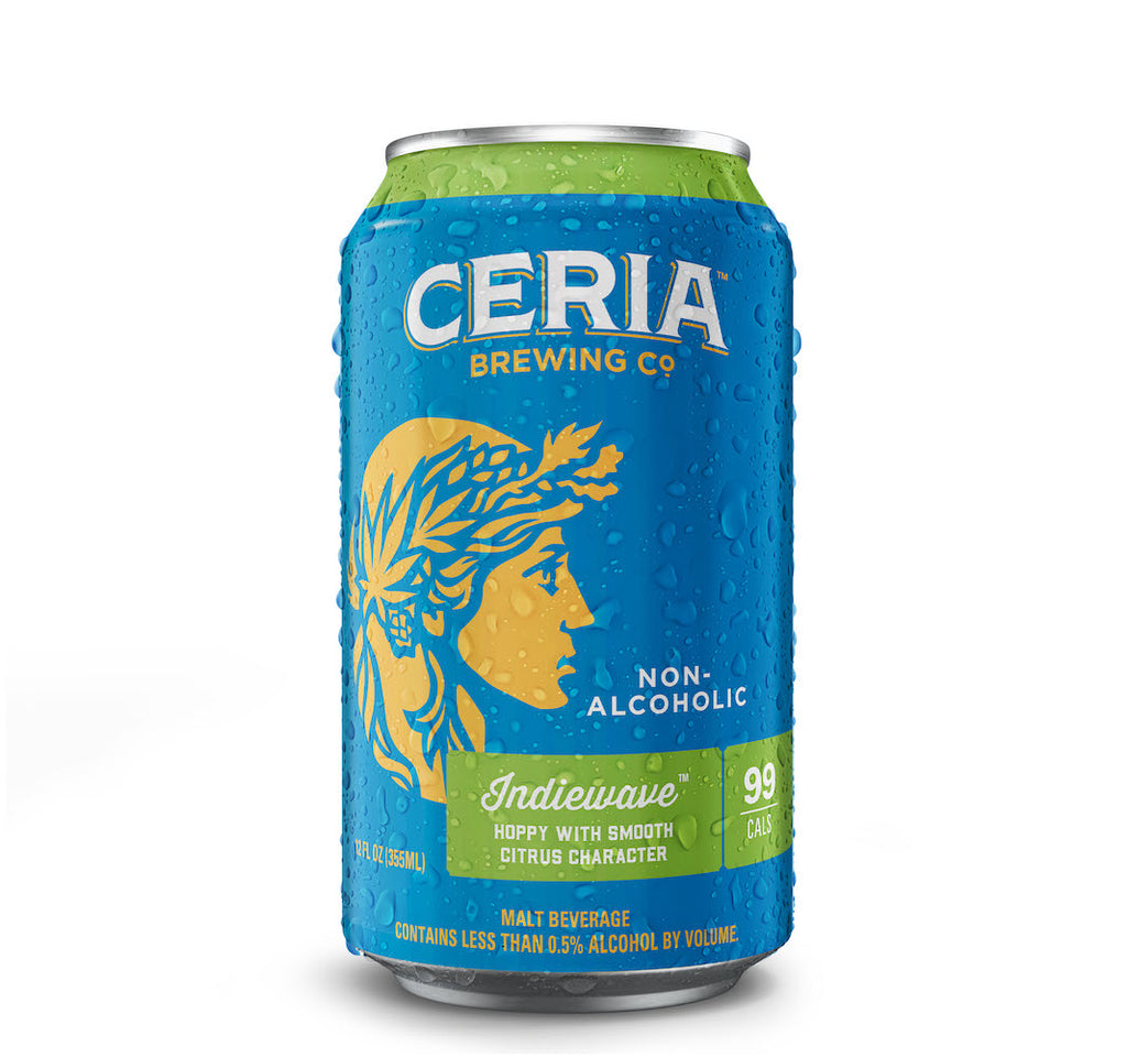 CERIA Brewing Indiewave West Coast IPA (Non-Alcoholic) 6-Pack