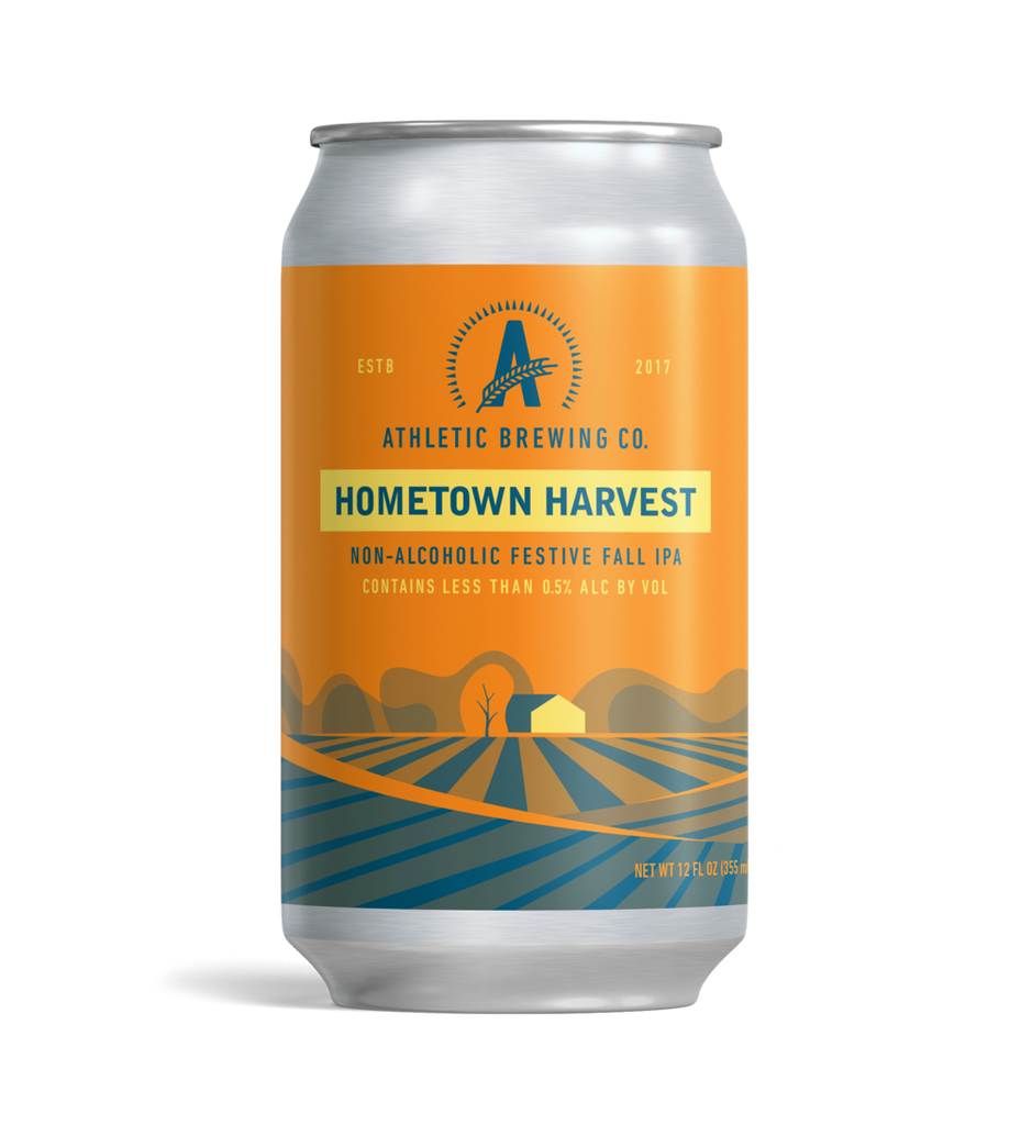 Athletic Brewing Hometown Harvest IPA (Non-Alcoholic) 6-Pack