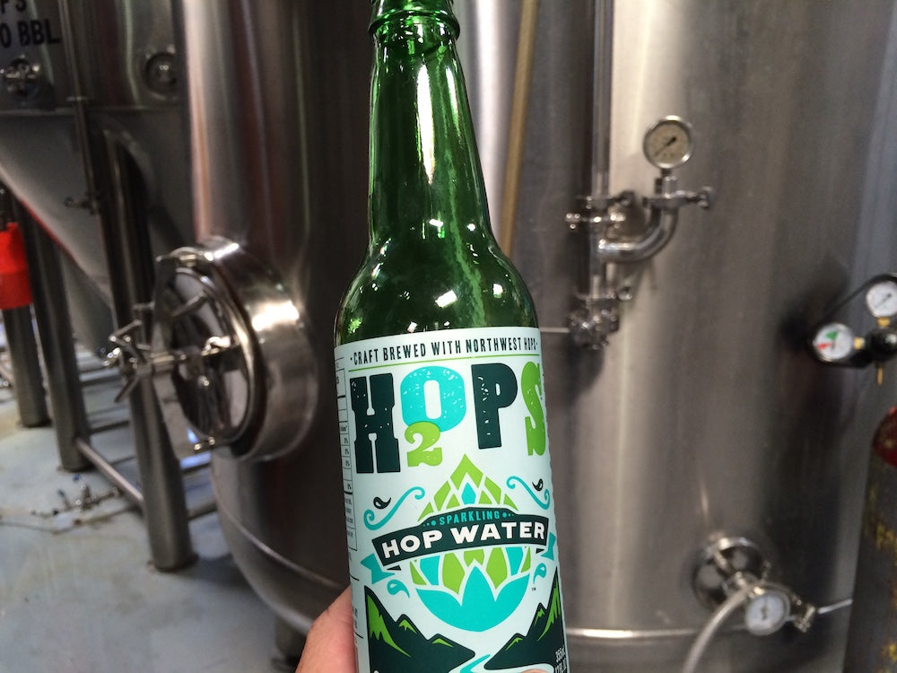 H2OPS Hopped Sparkling Water - ORIGINAL (Non-Alcoholic) 4-Pack