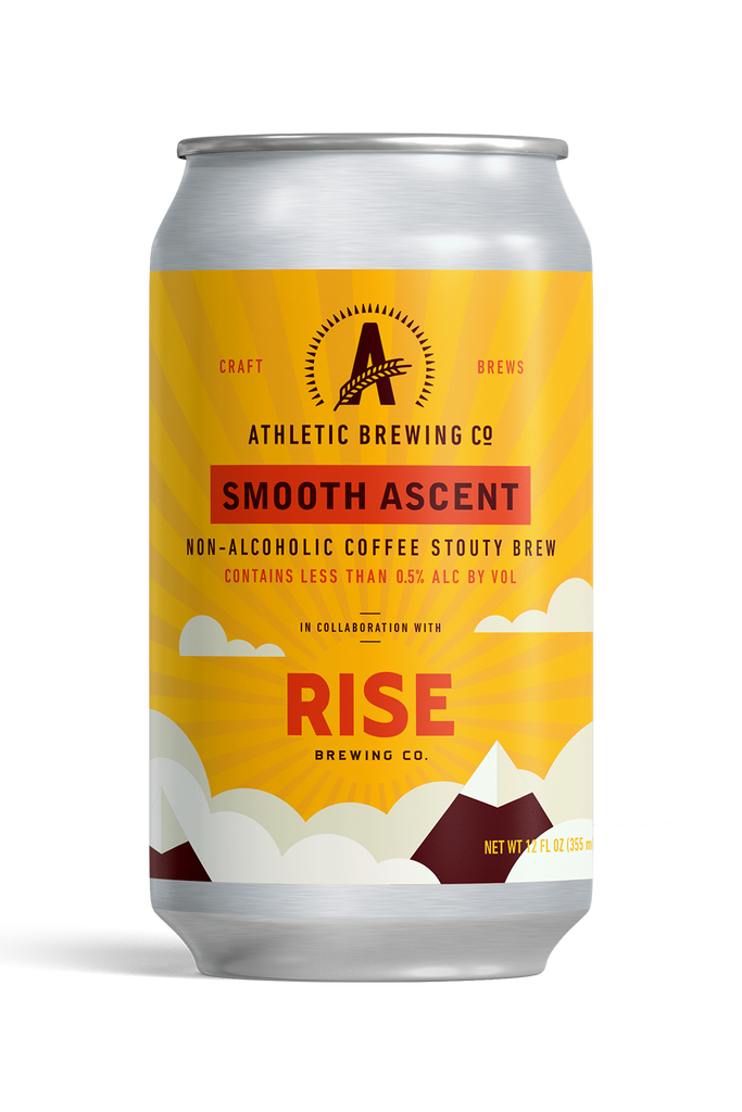 Athletic Brewing Smooth Ascent Coffee Stout (Non-Alcoholic) 6-Pack