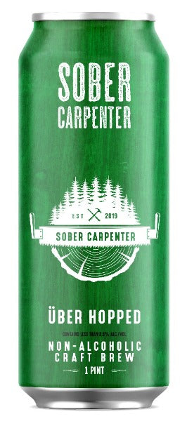 Sober Carpenter IPA (Non-Alcoholic) 4-Pack