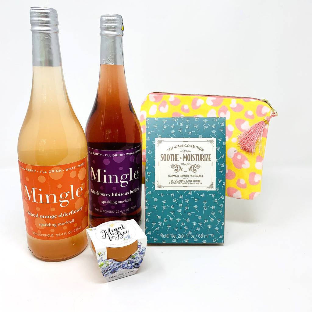 Mingle Mocktails Mom To Be Gift Package