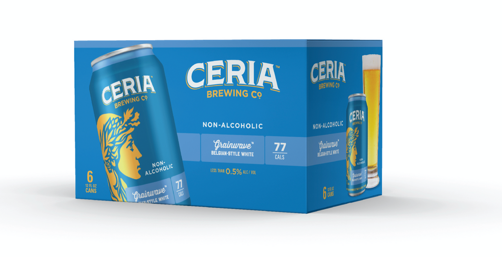 CERIA Brewing Grainwave Belgian White Ale (Non-Alcoholic) 6-Pack