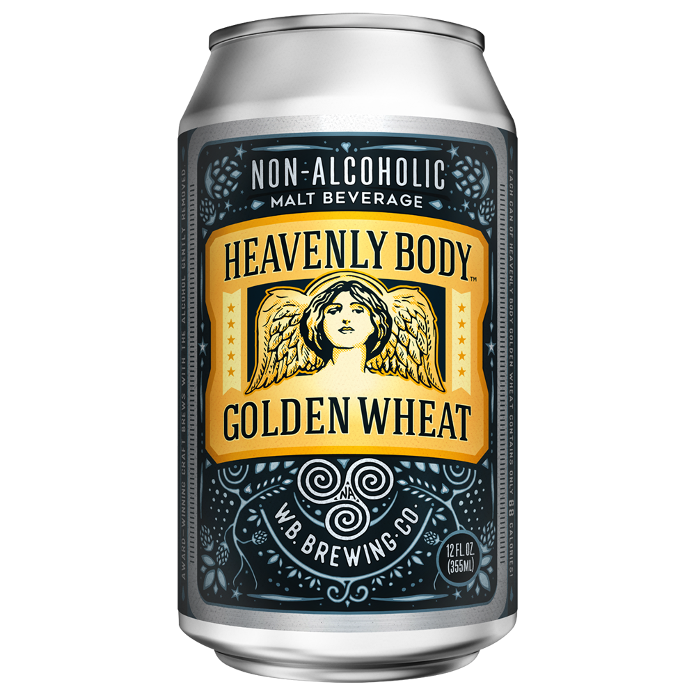Heavenly Body Golden Wheat (Non-Alcoholic) 6-Pack