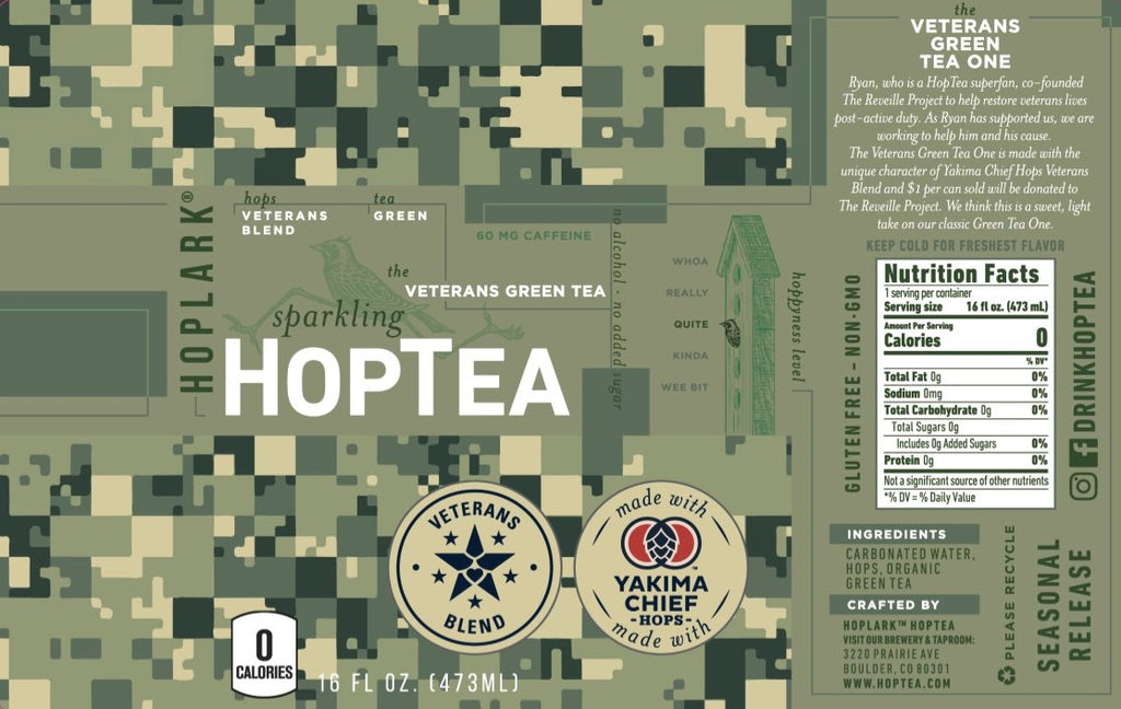 HopTea Veterans Green Tea One