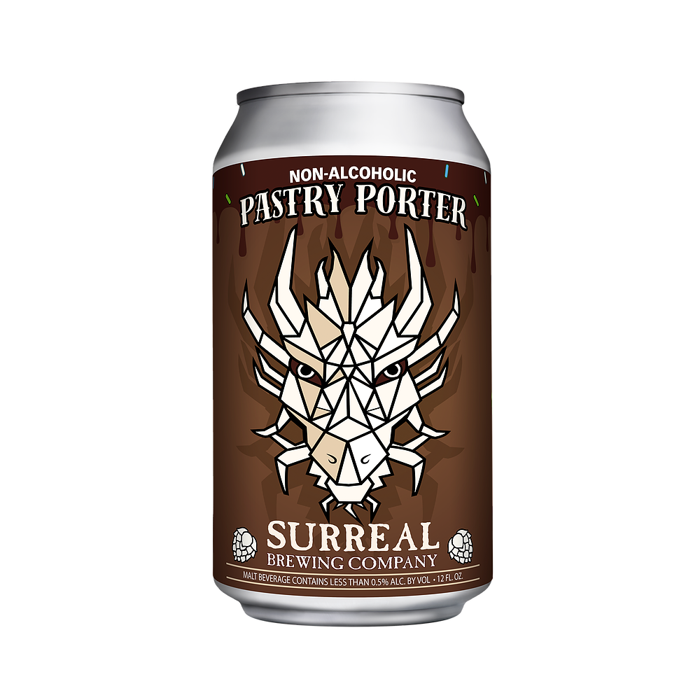 Surreal Brewing Pastry Porter (Non-Alcoholic) 6-Pack