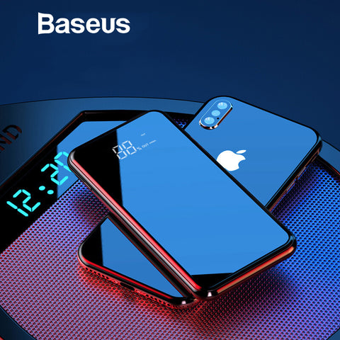 8000mAh Qi Wireless Charger Power Bank For iPhone & Samsung