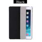 Soft TPU Back Smart Cover Flip Stand