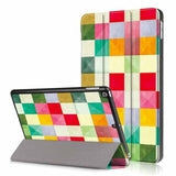 Slim Print Stand Flip Leather Case For iPad 9.7 inch 2018