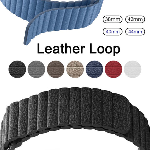 Genuine Leather Watchband Apple Watch