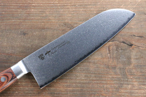Tamahagane  63 Layer Damascus Santoku Japanese Knife 175mm