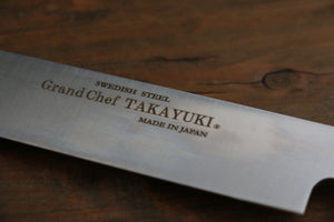 Sakai Takayuki Grand Chef Japanese Sword Style Sushi Chef Knife- Right Handed