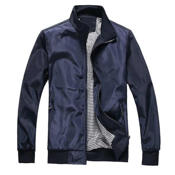 New Men's  Spring and Autumn Casual Bomber Jacket.