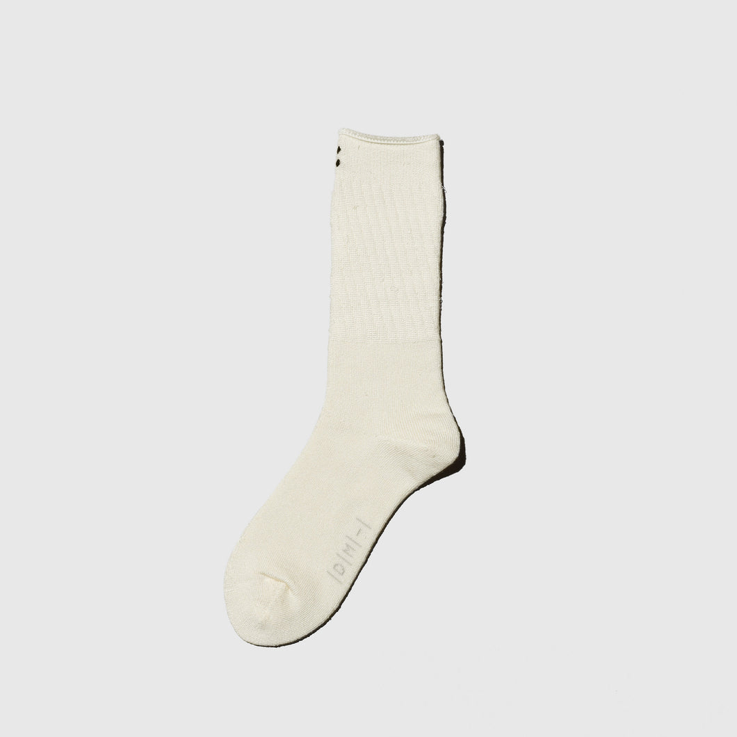 【SYN:】</br>01_01 PILE SOCKS <br></b><span>ウォッシャブルシルク<br></b><span>