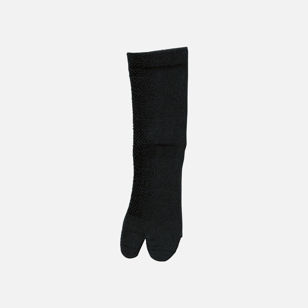 【SYN:】<br>01_15 CYCLING SOCKS<br>チャコール