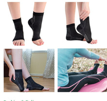Load image into Gallery viewer, Ankle compression socks.