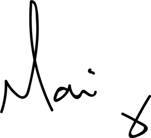 MAAREE Founder Mari Signature