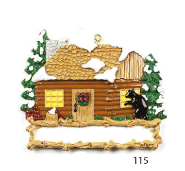 CABIN HOUSE - Express Ornaments