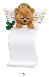 TEDDY BEAR ANGEL LIST - Express Ornaments