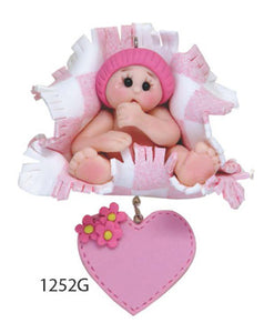 BABY CHRISTMAS PINK - Express Ornaments