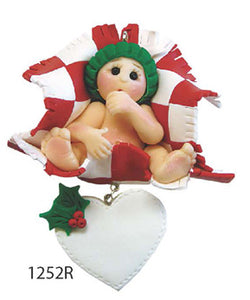 BABY CHRISTMAS RED - Express Ornaments