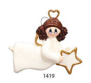 GIRL WITH HEART - Express Ornaments