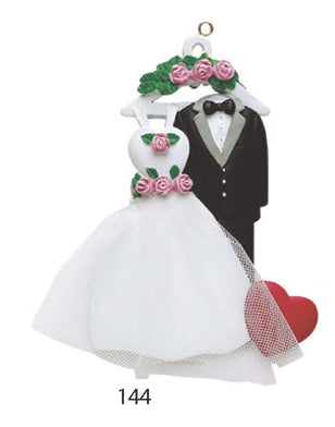 MARRIED COUPLE SUIT AND DRESS - Express Ornaments
