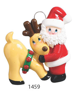 SANTA & REINDEER - Express Ornaments