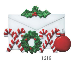CANDY CANE ENVELOPE - Express Ornaments