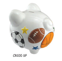 PIGGY BANK SPORTS - Express Ornaments