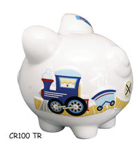 PIGGY BANK TRAIN - Express Ornaments