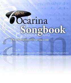 Sixth Street Ocarina EBook Songbook / Ebook downloadable PDF
