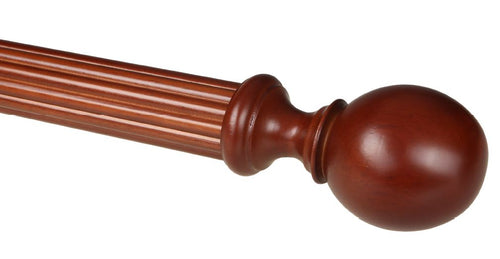 Ball Wood Finial