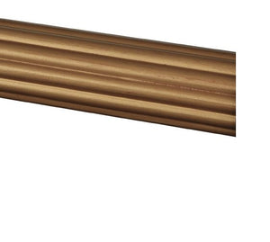 8 ft. Fluted Wood Rod
